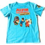 Alvin & The Chipmunks ROAD CHIP Movie T-Shirt - Medium Childs - NEW
